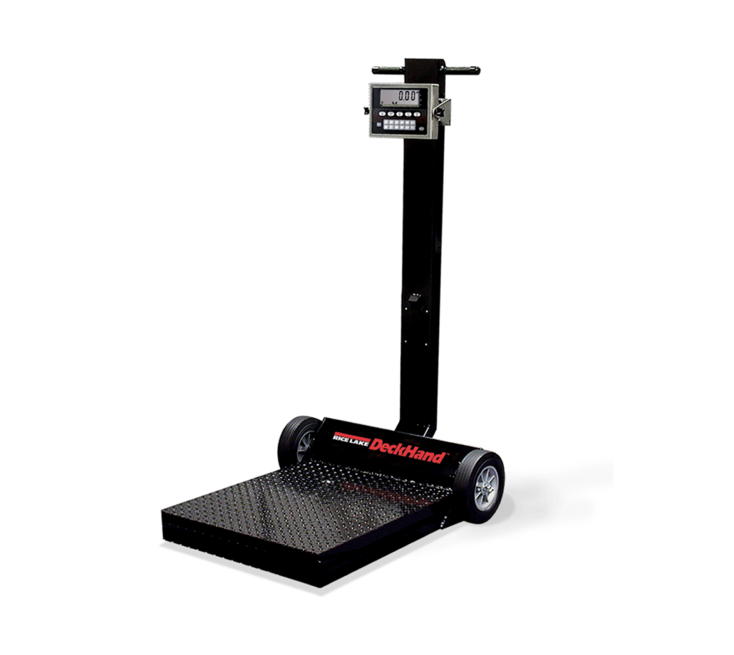 portable floor scale